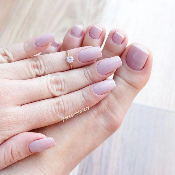 39 Melhores combinações de esmaltes para unhas das mãos e dos pés, dicas