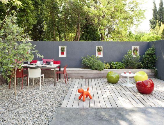 r aliser une banquette ext rieure petit jardin pinterest banquettes. Black Bedroom Furniture Sets. Home Design Ideas