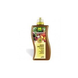Abono líquido. Universal 1 l. bio  $6,75 euros    Cómpralo en: http://plantajardin.com/es/productos-ecologicos/338-abono-liquido-universal-1-l-bio.html