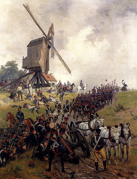 Crofts Ernest The Battle Of Waterloo. This Day in History: Jun 18, 1815: Napoleon defeated at Waterloo - http://dingeengoete.blogspot.com/2013/06/this-day-in-history-jun-18-1815.html