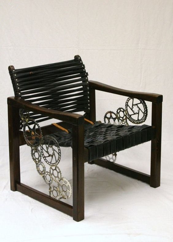Recycling, Bike chain and Auction on Pinterest