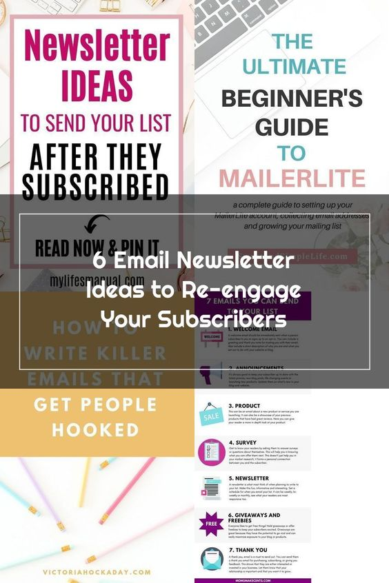 6 Re Engaging Newsletter Ideas To Send Your Email List That Get Opened And Clicked If You Don T Have An In 2020 Email Marketing Template Email Marketing Email List