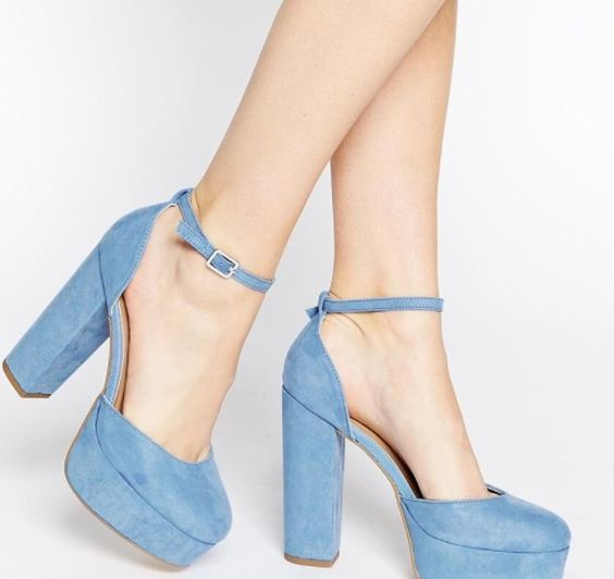 Light blue heels - asos.com | Heels mania | Pinterest | Light blue ...