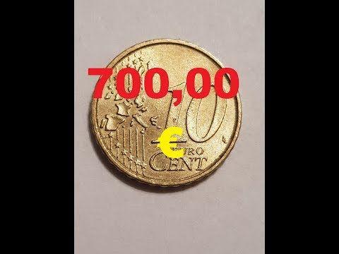 10 Cent Fehlpragung 700 00 Youtube Wertvolle Munzen Seltene Munzen Alte Munzen