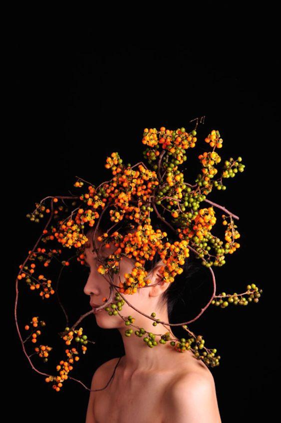 Botanical Headdresses by Takaya-15 – Fubiz™
