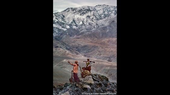 Muyahidines. Steve McCurry Magnum photos