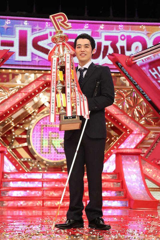 Rー1グランプリの濱田祐太郎さん