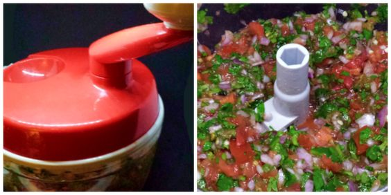 Pico de Gallo and the King Pro Manual Food Processor