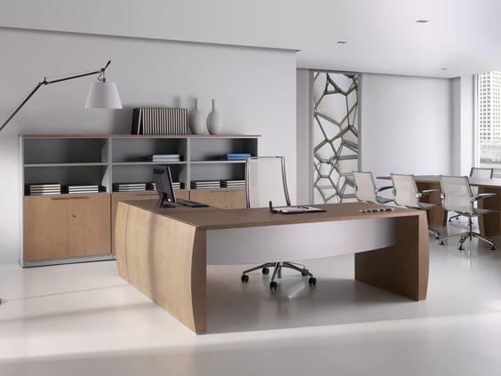 Mesas de direcci n serena muebles de oficina mesas for Muebles de oficina armarios