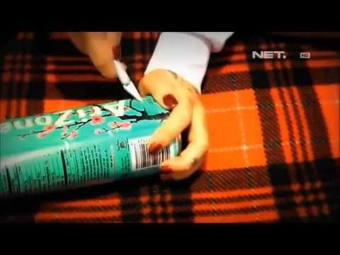 NET12 - Kreasi Kaleng Bekas