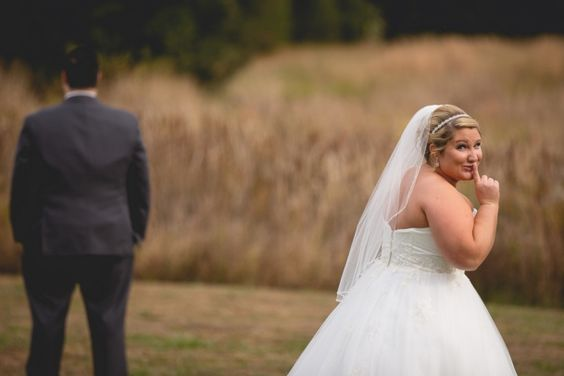 {Real Plus Size Wedding} Tennessee Outdoor Fall Wedding | Studio 21 Photography