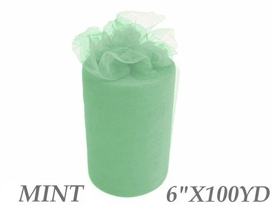 Mint Tulle Roll $7.49
