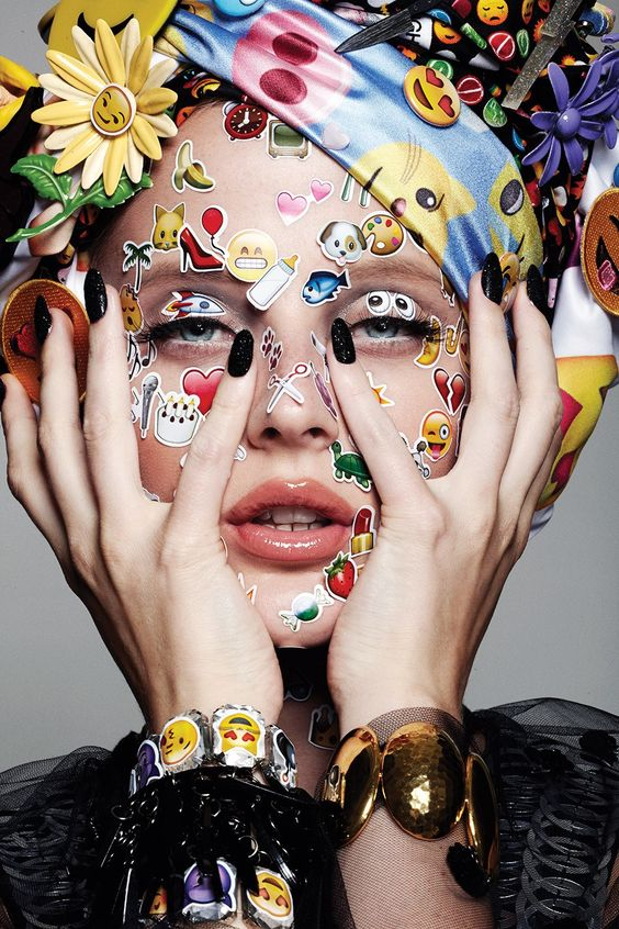 Emoji Girlu0027 by Jamie Nelson Hair and beauty Pinterest Emoji