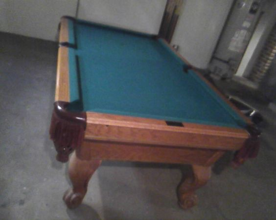7' Playmaster Renaissance Pool Table