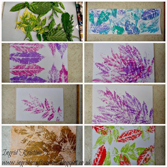 http://ingridscraftscorner.blogspot.co.uk/2014/08/stamping-with-leaves.html