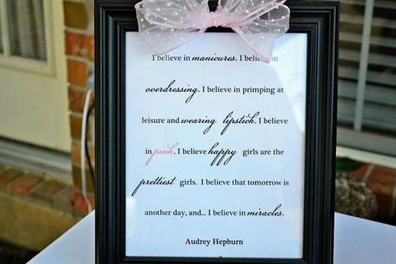love the idea of dressing up a frame with a bow