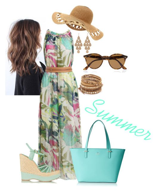 """""""Summer outfit 19"""" by gigi49 ❤ liked on Polyvore"""