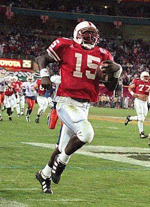Tommie Frasier,QB Nebraska(1994 and 1995 National Champions)