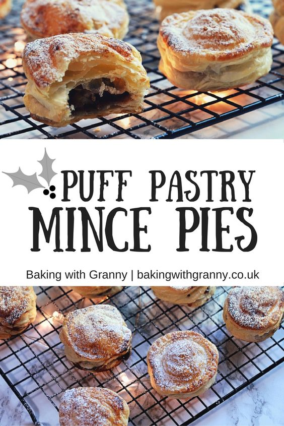 Puff Pastry Mince Pies. A delicious twist on a festive classic. Merry Christmas!