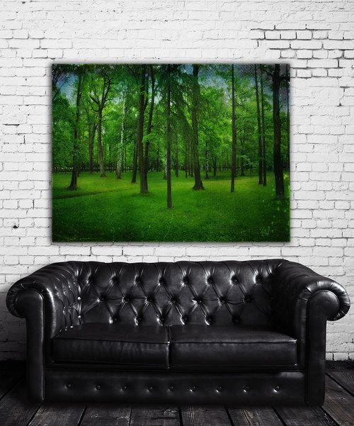 Look at this Forest Wrapped Canvas on #zulily today!