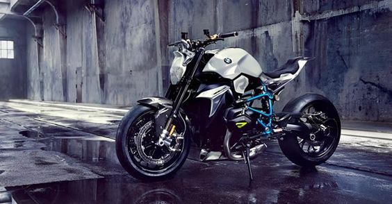 BMW presentó la motocicleta Concept Roadster