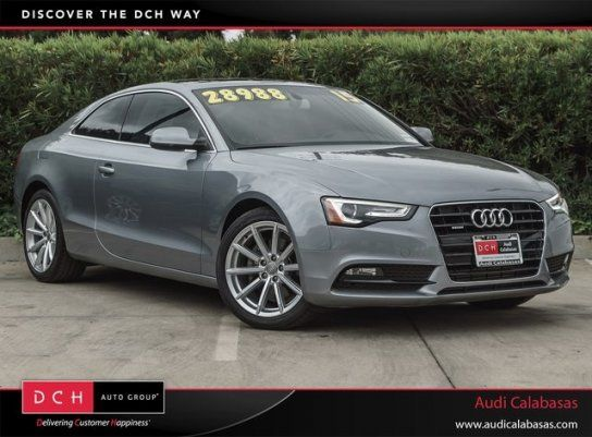 Coupe 2015 Audi A5 2 0t Premium Quattro Coupe With 2 Door In Calabasas Ca 91302 Audi A5 Audi Coupe