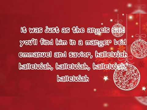 Christmas Hallelujah Lyrics Caleb Kelsey Christmas Music