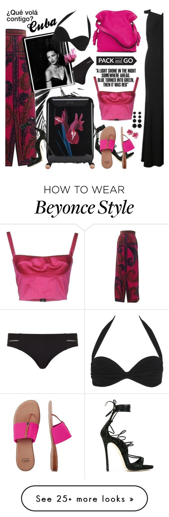 """""""¿Qué volá contigo? Cuba, What's Up?"""" by esch103 on Polyvore featuring Dsquared2, Emilio Pucci, Tory Burch, Ted Baker, Thakoon Addition, Loewe, André Assous, Norma Kamali, Rebecca de Ravenel and Packandgo"""