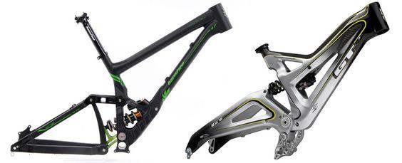 Downhill Mountain Bike Frames Reviews Comparisons Specs