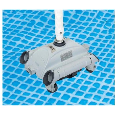 Intex Automatic Above Ground Pool Vacuum For Pumps 1 600 3 500 Gph 28001e Pool Vacuum Ground Best Pool Vacuum Pool Vacuum Cleaner Automatic Pool Cleaner