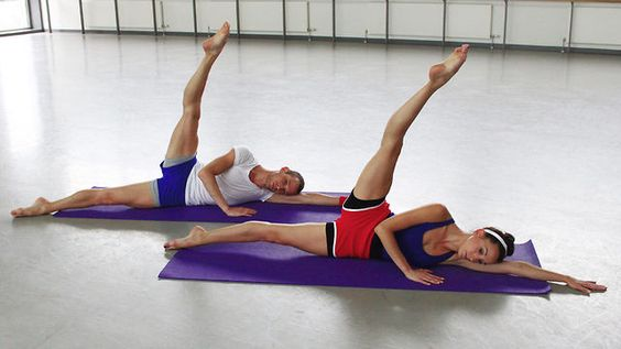 Scottish Ballet: Core de Ballet Exercise Series 1 by Scottish Ballet. Tone up with Scottish Ballet's Core De Ballet, a specialised introduction to core-based ballet exercises. Join Gyrotonics Instructor Kate Menzies and dancers Luciana Ravizzi and Luke Ahmet for a 15-minute exercise routine designed to stretch and tone- Just did it and it's very relaxing :) Kind of like yoga :)