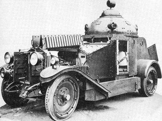 1925 Vickers-Crossley Armored Car