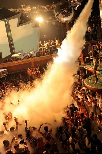 Ibiza clubbing - Amnesia - Home of Cocoon, Cream, Music On & Matinee