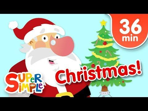 Our Favorite Christmas Songs For Kids Super Simple Songs Youtube Christmas Songs For Kids Kids Songs Super Simple Songs