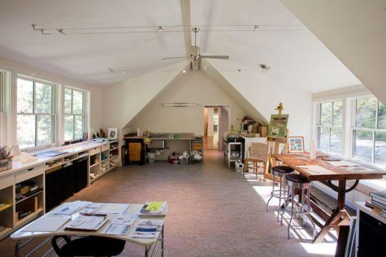 19 Artist S Studios And Workspace Interior Design Ideas