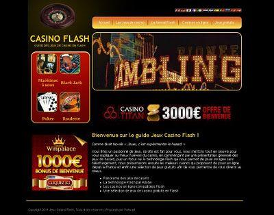 Guide de jeux de casino gratuit en Flash