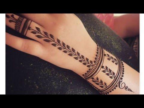 Wrist Henna Tattoo Ridah Henna Art Youtube In 2020 Wrist Henna Henna Tattoo Designs Henna Tattoo Designs Simple