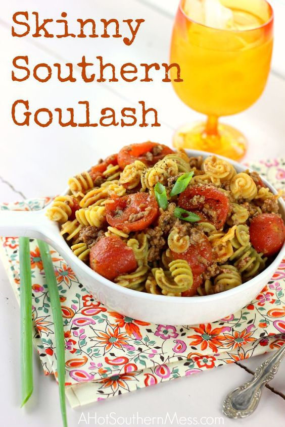 Skinny Southern Gluten-Free Goulash | A Hot Southern Mess
