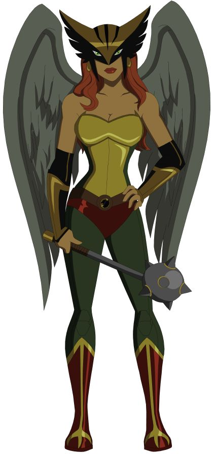 New Hawkgirl by AMTModollas on deviantART