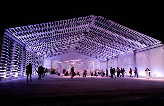 Outstanding Achievement Award for tent manufacturing & design: Design Miami 2010