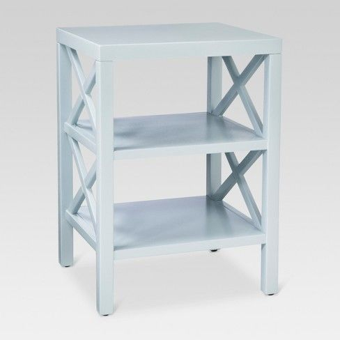 Owings Accent Table White Threshold Target Blue Side Table Living Room Side Table Accent Table