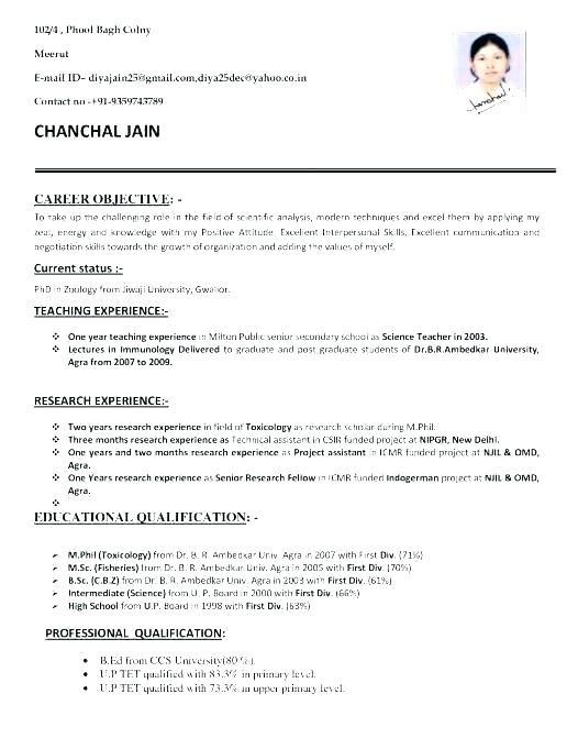 Sample Resume Format For Lecturer Job Urgupewrs2018 Jobs For Teachers Sample Resume Format Teacher Resume Template