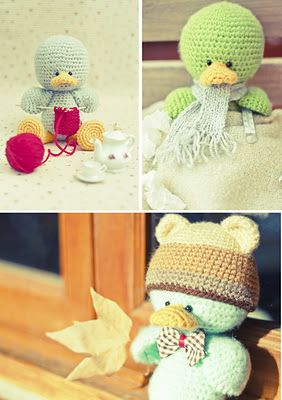 Gallimelmas e Imaginancias: Amigurumi Hannah wants the duck pattern!