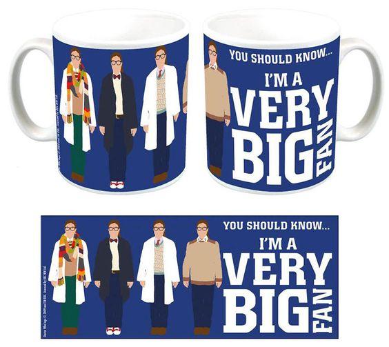 Doctor Who Mug - I'm A Very Big Fan
