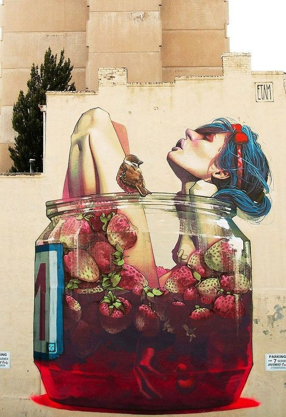 The Best Street Art Masterpieces of 2013 #streetart jd. Its incredible the way they make the glass: