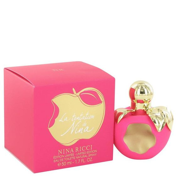 La Tentation de Nina Ricci by Nina Ricci Eau De Toilette Spray (Limited Edition) 1.7 oz - Natural Peach naturalpeach.com