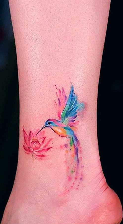 60 Awesome Watercolor Tattoo Designs Watercolor Arrow Tattoo Arrow Tattoos Tattoos