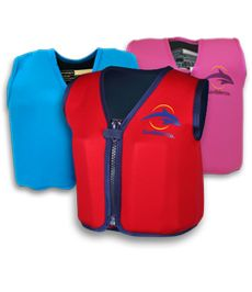 Konfidence jackets - brilliant alternative to life vests and arm floats for kids.