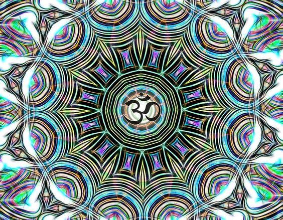 Healing Om -Mandala - 3