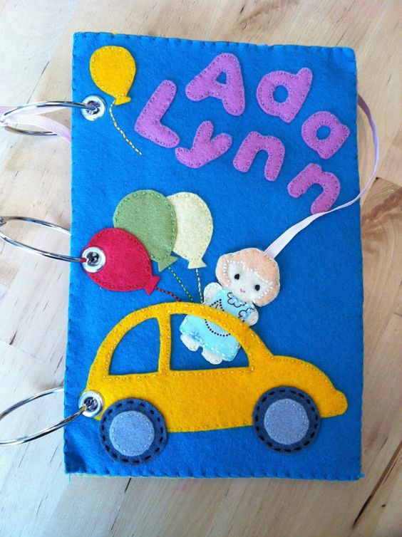 Quiet Book Pattern for open-ended play and by ArtInEverydayLife
